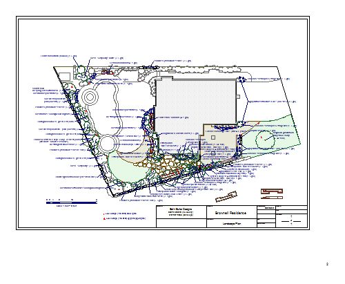 4 brownell encinitas landscape design blueprint
